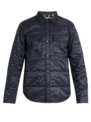 Burberry Lightweight Quilted Jacket Navy