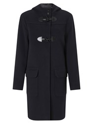 Four Seasons Fashion Duffle Coat Navy