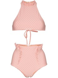 Made By Dawn Elizabeth Bikini Set Pink