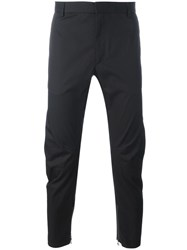 Lanvin Ankle Zip Trousers Black