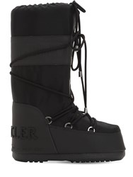 Moncler Saturne Moon Boots High Black