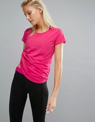 Under Armour Fly By Running T Shirt Pink