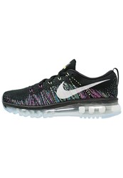 Nike Performance Flyknit Max Neutral Running Shoes Black Summit White Ghost Green Fire Pink Blue Glow
