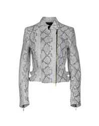 Class Roberto Cavalli Coats And Jackets Jackets Women Light Grey