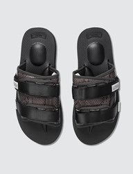 Suicoke Moto Vsnk Slide Sandals Black