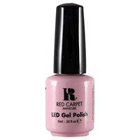 Red Carpet Manicure Led Gel Nail Polish Pinks And Nudes Collection 9Ml Nervous With Anticipation