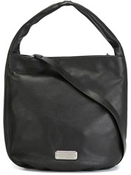 Marc By Marc Jacobs 'New Q Zippers Hillier Hobo' Tote Black