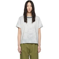 3.1 Phillip Lim Blue Tie Dye T Shirt