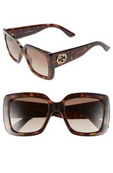 Women's Gucci 53Mm Square Sunglasses