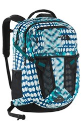 The North Face 'Recon' Backpack Blue Blue Bird Diamond Dot Print