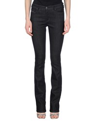 Diesel Denim Denim Trousers Women Black