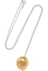 Alighieri Gold Plated And Silver Necklace One Size