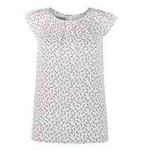 Hobbs Mercy Top White