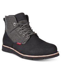 Levi's Men's Jax Hemp Boots Men's Shoes Black