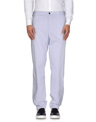 Emporio Armani Ea7 Trousers Casual Trousers Men Lilac