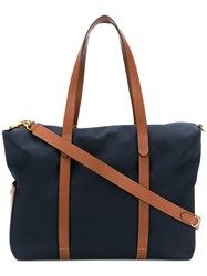 Mismo Ms Mega Tote Bag Blue