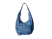 She Lo Take A Chance Hobo Cobalt Black Hobo Handbags Blue