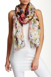 Italca Botanical Melody Silk Scarf Multi