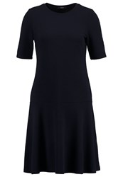 Opus Wellina Jersey Dress Reliable Blue