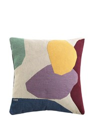 Viso Project Cotton Tapestry Pillow Multicolor