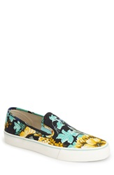 Polo Ralph Lauren 'Mytton' Slip On Men Black Floral