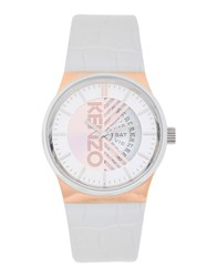 Kenzo Wrist Watches White