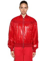 Moncler Nassau Techno Casual Jacket Red
