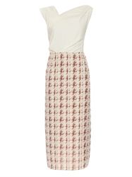 Nina Ricci Panelled Midi Dress