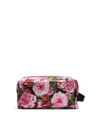 Dolce And Gabbana Rose Print Large Wash Bag Pink Multi