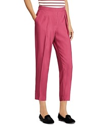 Ralph Lauren Cropped Twill Pants Red