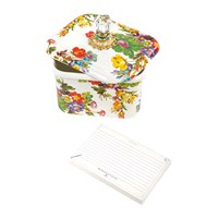Mackenzie Childs Flower Market Recipe Box