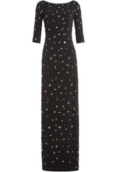 Jenny Packham Embellished Maxi Dress Black