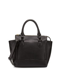 Neiman Marcus Convertible Satchel Bag Black