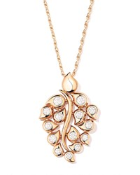 Tamara Comolli Snowflakes Diamond Pendant In 18K Rose Gold