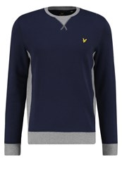 Lyle And Scott Sweatshirt Navy Dark Blue