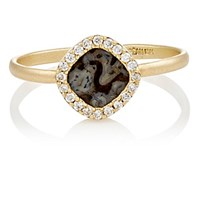 Monique Pean Women's Gemstone Ring Gold Brown No Color Gold Brown No Color