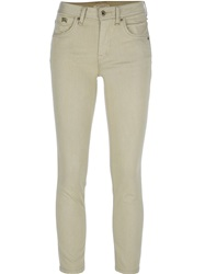 Burberry Brit Cropped Trouser Brown