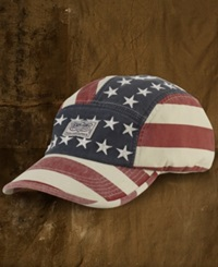Denim And Supply Ralph Lauren Hat Canvas Flag Cap American Flag