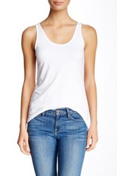 Andrea Jovine Double Scoop Tank White