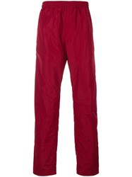 White Mountaineering Track Pant Trousers Nylon Polyester Red