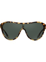 Prada Eyewear Tortoiseshell Sunglasses Brown