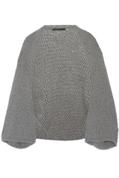 Co Wool And Angora Blend Shrug