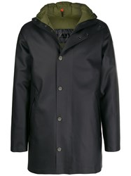 Rrd Feather Down Double Parka Black