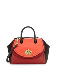 Oryany Mindy Colorblock Satchel Flame Multi