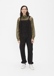 Engineered Garments 'S Overalls Pants In Black Size Small 100 Cotton