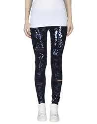 P.A.R.O.S.H. Trousers Leggings Women Dark Blue