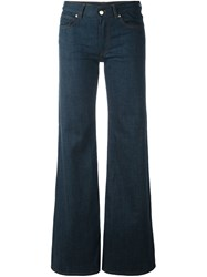 Maison Martin Margiela Mm6 Flared Leg Jeans Blue
