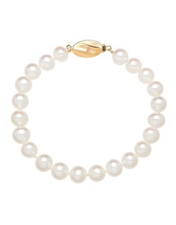 Honora Style 7Mm Freshwater Pearl And 14K Yellow Gold Bracelet Pearl Gold