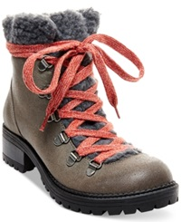 Madden Girl Madden Girl Bunt Cold Weather Hiker Booties Women's Shoes Stone