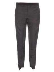 Marni Mid Rise Stretch Wool Trousers